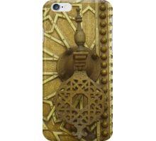 Morocco - door handle iPhone Case/Skin