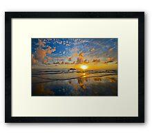 Daintree sunrise reflections Framed Print