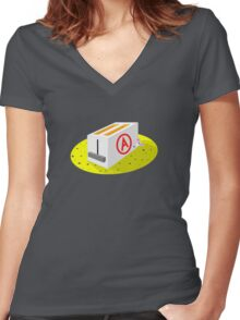 Alfonso the Mouse Women's Fitted V-Neck T-Shirt