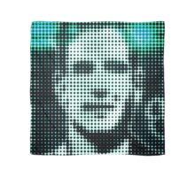 "Pixels Print ""FACE OF MAN III"" Scarf"
