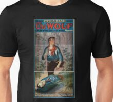 Performing Arts Posters The wolf aplay of the Canadian woods by Eugene Walter 0559 Unisex T-Shirt