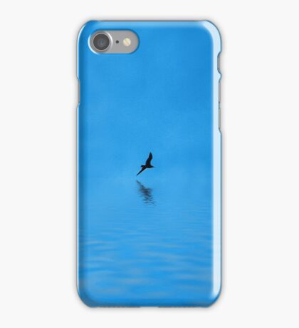 Blue Water Flying iPhone Case/Skin