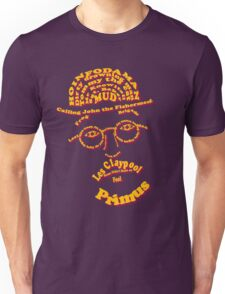 Les Claypool Typography Unisex T-Shirt