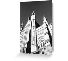 Gothic architecture photography Greeting Card