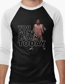 You Gon Learn Today - Kevin Hart Men's Baseball ¾ T-Shirt