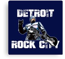 ROBOCOP - DETROIT ROCK CITY Canvas Print