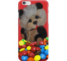 THE THINGS THAT MAKE U GO MM-BEAR EATING M&M's TABLET & IPHONE CASE iPhone Case/Skin
