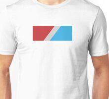 RED/CYAN Logo Unisex T-Shirt