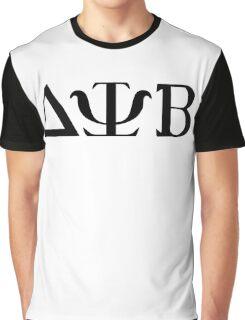 Delta Psi Beta black Graphic T-Shirt