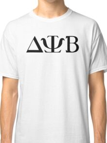 Delta Psi Beta black Classic T-Shirt
