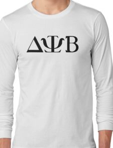 Delta Psi Beta black Long Sleeve T-Shirt
