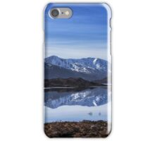 December Snow and Freezing Cold at Cluanie Dam iPhone Case/Skin