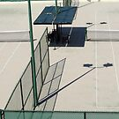Tennis Shapes And Shadows by phil decocco