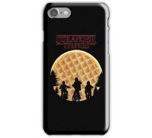 stranger things waffle iPhone Case/Skin