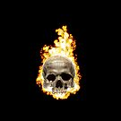 Flaming Skull by Confundo