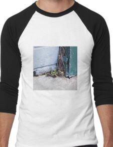 { Corners: where the walls meet #15 } Men's Baseball ¾ T-Shirt