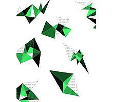 Green Geometric Photographic Print