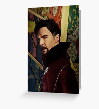 Doctor Strange ShSpesh Comic  Greeting Card