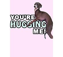 Youre Hugging Me! - Kermit, Jenna Marbles Photographic Print