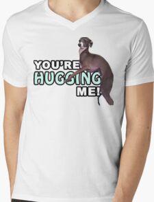 Youre Hugging Me! - Kermit, Jenna Marbles Mens V-Neck T-Shirt