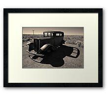Old Vehicle VI Toned Framed Print