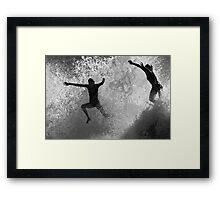 Leap Of Faith #2 Framed Print