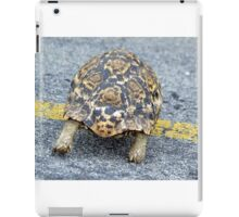 Slow and steady wins the race. iPad Case/Skin
