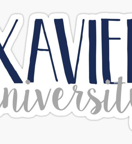Xavier University Sticker