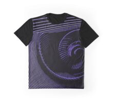 Purple spiral, abstraction, visual, optical illusion Graphic T-Shirt