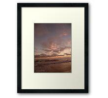 PANTONE MAUVE NUAGES Framed Print