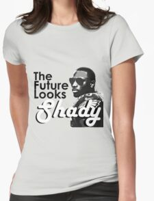 The Future Looks Shady Womens Fitted T-Shirt