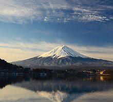 Mount Fuji Japan by Dean Jewell