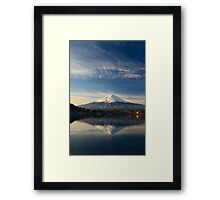Mount Fuji Japan Framed Print