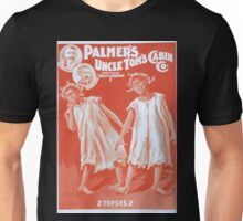 Performing Arts Posters Palmers Uncle Toms Cabin Co 1198 Unisex T-Shirt