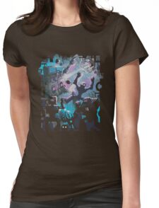 Robo Disco Womens Fitted T-Shirt