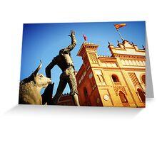 Plaza de Toros de Las Ventas Greeting Card