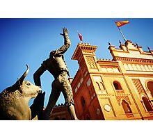 Plaza de Toros de Las Ventas Photographic Print