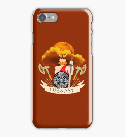 Tuesday - Tiw's day iPhone Case/Skin