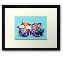 Night Owl Morning Owl Framed Print