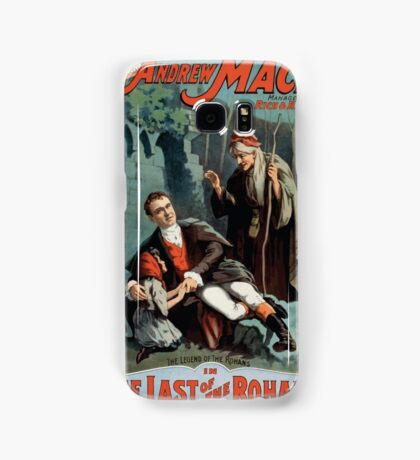 Performing Arts Posters The singing comedian Andrew Mack in the The last of the Rohans by Ramsay Morris 1114 Samsung Galaxy Case/Skin