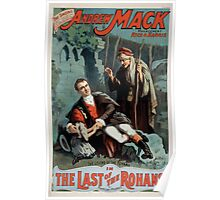 Performing Arts Posters The singing comedian Andrew Mack in the The last of the Rohans by Ramsay Morris 1114 Poster