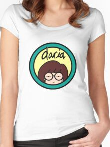 Daria Women's Fitted Scoop T-Shirt