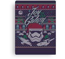 Joy to the Galaxy Canvas Print