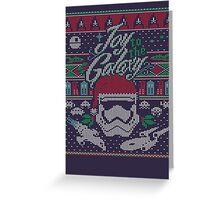 Joy to the Galaxy Greeting Card