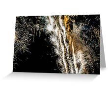 Festival Fireworks4 Greeting Card