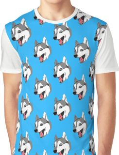 Happy Husky Graphic T-Shirt
