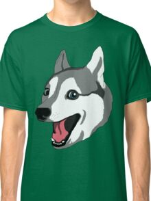 Happy Husky Classic T-Shirt
