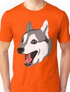 Happy Husky Unisex T-Shirt