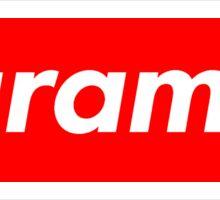 Harambe Supreme Box Logo Best Sticker