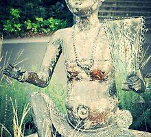 zen statue by Jessesgurl81